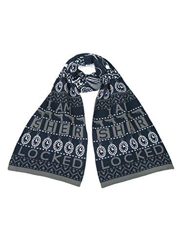 Preisvergleich Produktbild I AM SHERLOCKED Strick Schal – Offiziell BBC Lizensiert Sherlock Schal von LOVARZI