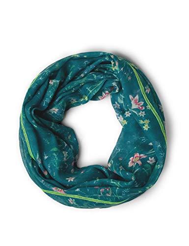 CECIL Cecil Damen Blumenprint Loop amazonia green A