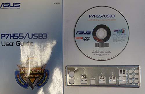 ASUS P7H55/USB3 Handbuch - Blende - Treiber CD
