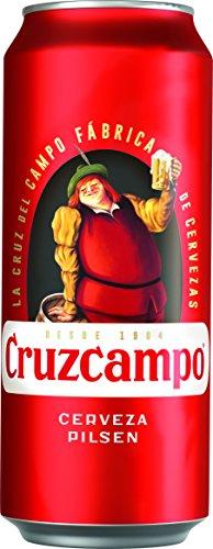 Cruzcampo Beer Tin - 500 ml