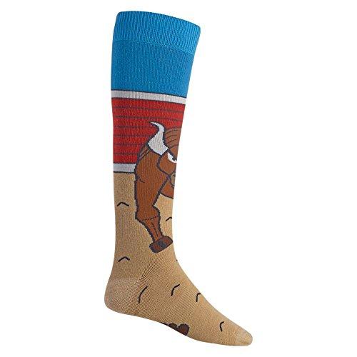 Burton Herren Party SK Snowboard Socken, Toro, M (Burton Knöchel-socken)