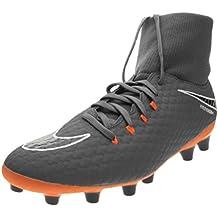 Bota Nike Hypervenom Phantom III Academy DF AG-Pro Talla 42, Color Gris,