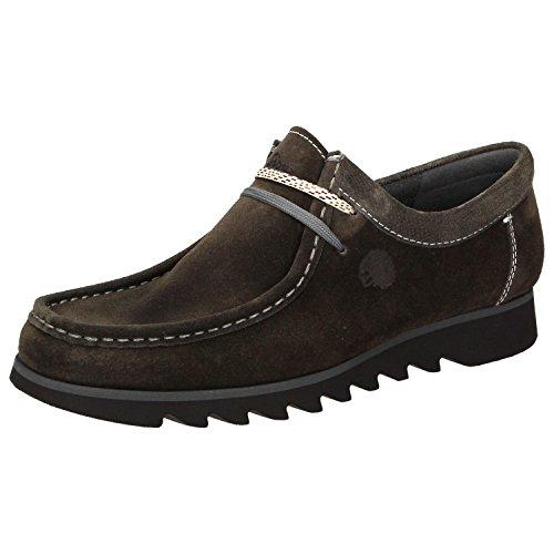 Sioux  34275, Chaussures de ville à lacets pour homme Gris