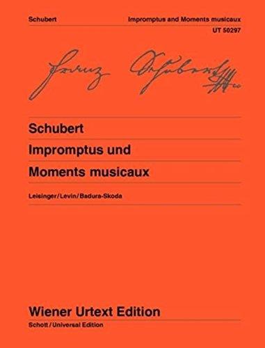 Impromptus und Moments Musicaux: Nach den Quellen hrsg. von Ulrich Leisinger, Hinweise...