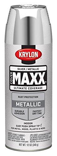 krylon-k09196000-covermaxx-spray-paint-metallic-silver-by-krylon