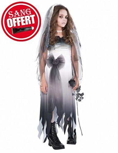 (Abendkleid - 'Graveyard Bride' Kostüm - Mädchen im Alter von 12-14 - Amscan)