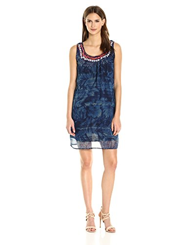 Desigual 73V2WK9 Dress Frauen Blue
