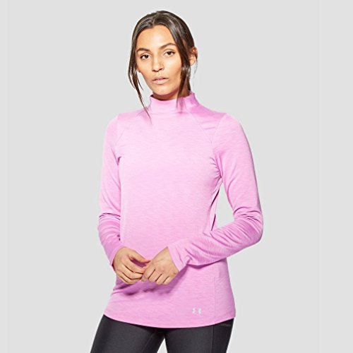 Under-Armour-Womens-Ua-ColdGear-Mock-aupblkMSV-Long-Sleeve-Shirt