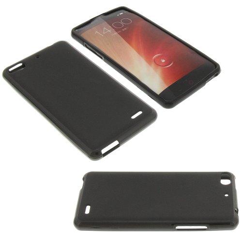 Silikon Tasche für ZTE Nubia Z5S mini Silicon Schutz Handytasche schwarz