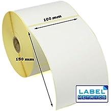 Thermo Etiketten 500 pro Rolle 102x152 mm Kern 25mm UPS DPD DHL Zebra GK420 H6