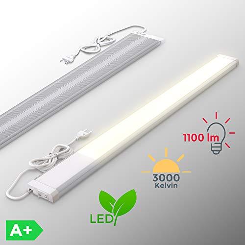 LED Unterbauleuchte | inkl. 10W LED Platine 1100 Lumen | 57,5cm | 3000K warmweiß | IP20 | Unterbaulampe | Küchenlampe Led-platine