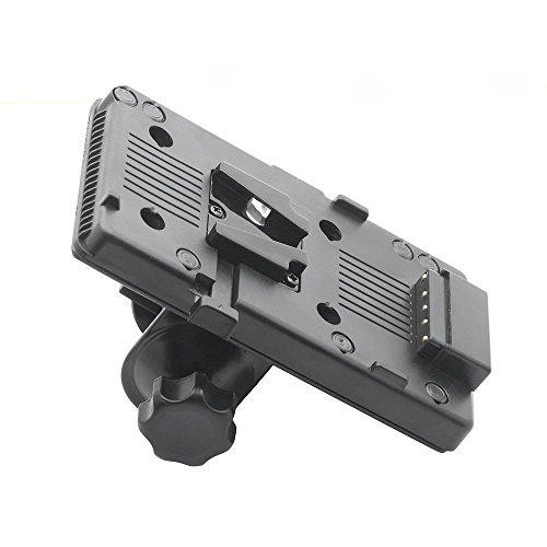 Ruili V Mount batería Placa Conector Tap D + C Abrazadera