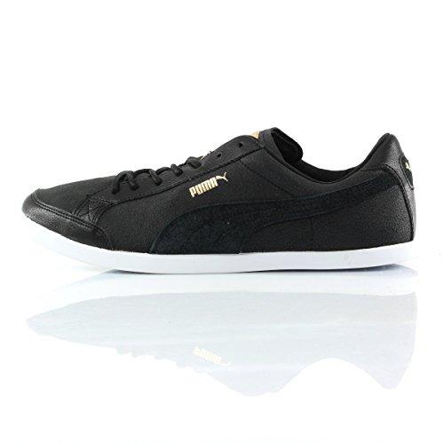 Puma Lopro catskil Citi Series 35665701,–Sneaker da uomo Black/White