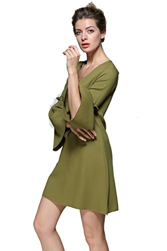 Jollychic - Robe - Trapèze - Femme green