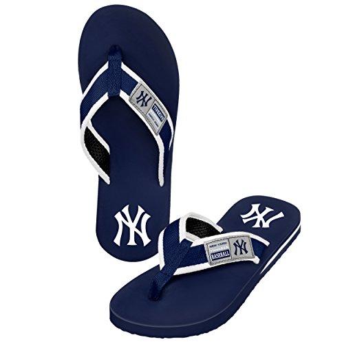 Forever Collectibles MLB New York Yankees Herren Locker Label Contour, Large, Blau New York Yankees Tasche