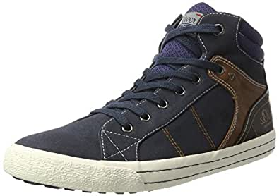 s.Oliver Herren 15202 Hohe Sneaker, Blau (Navy), 41 EU