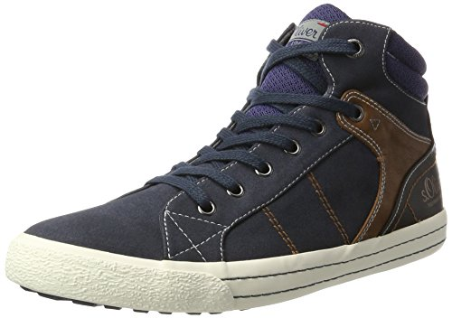 s.Oliver 15202, Chaussons montants homme Bleu (Navy)