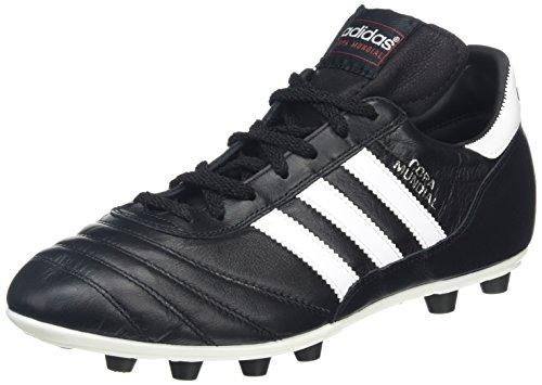 Adidas, Copa Mundial, 015110, Scarpa da Calcio Uomo, Taglia 44 2/3 - 10,5, Nero - Bianco