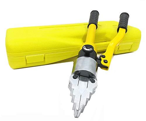 CGOLDENWALL - Separador de brida hidráulico portátil para esparcidor, extensor hidráulico integrado, alicates de estiramiento 12T