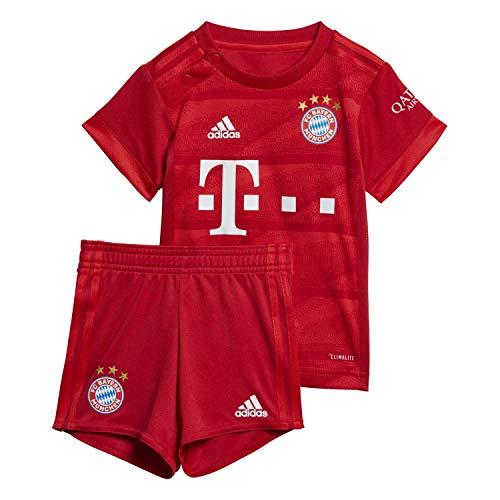 adidas Performance Kinder FC Bayern München 19/20 Heim Babykit Fußballtrikot rot 74