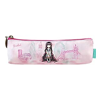 Gorjuss Cityscape Rosebud Pencil Case