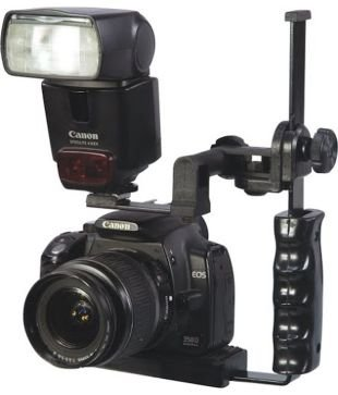 SHOPEE BRANDED New Camera Adjustable Flash Flip Bracket for SLR DSLR Photograghy Nikon Pentax  available at amazon for Rs.499