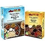 [Sponsored]SLM Spice Kitchen King (100 Gm.) With Gram Masala (50 Gm.) Combo Set (Pack Of 150 Gm.)