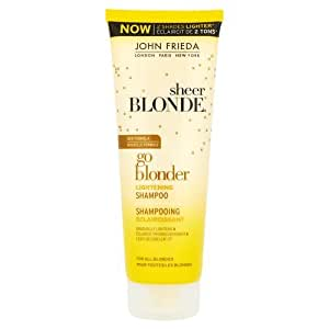 John Frieda Sheer Blonde Go Blonder Lightening Shampoo, 250 ml