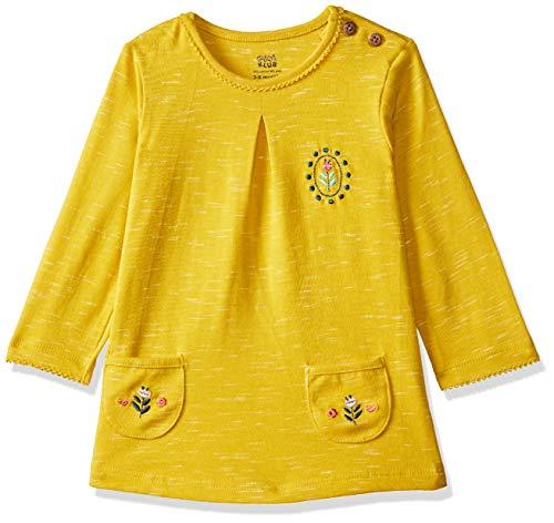 MINI KLUB Baby Girls'Plain Regular Fit T-Shirt