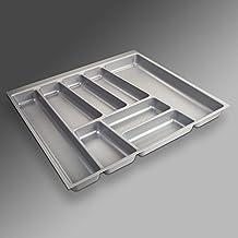 So De Tech® Cubiertos Orga de Box II para nobilia 60er cajón (462 x 505 mm) Color Gris