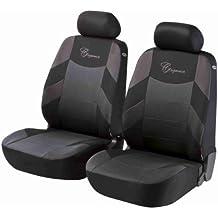 Sitzbezüge Schonbezüge grau-schwarz Kunstleder für RENAULT MODUS ESPACE KANGOO