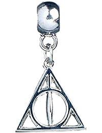 Official Harry Potter Silver Plated Deathly Hallows Symbol Slider Bracelet Charm