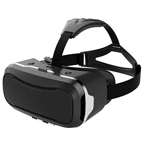 AOVOI VR Virtual Reality 3D Brille Headsets Film Gaming-Brille 1080 P Auflösung für Android 4,7-Zoll-6 Zoll, Apple Smartphone (schwarz)