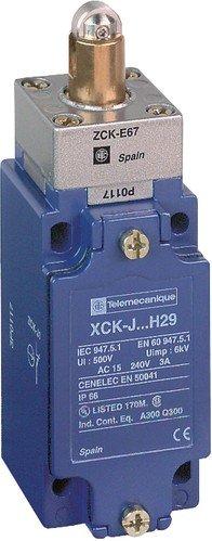 Schneider XCKJ167H29 Positionsschalterkopf Verst. Stahl-Rollenstößel, 1Ö+1S, Sprungfunktion, M20 -
