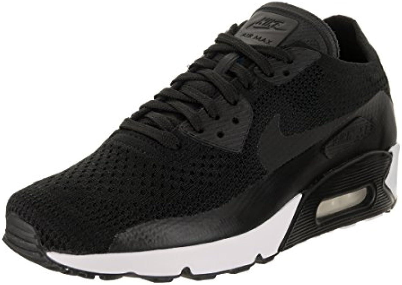 Zapatillas Nike Air Max 90 Ultra 2.0 Flyknit Negro / Negro / Blanco / Negro 12 Estados Unidos
