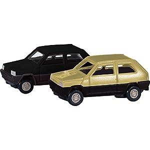 Herpa 065962-002-FIAT Panda, vehículos, de 2Unidades