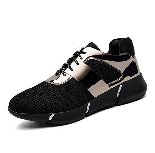KHSKX-Il Nuovo Nero Scarpe Casual Scarpe Sportive Spessa Flat-Bottomed Studenti Calzature Calzature Donna 34 38