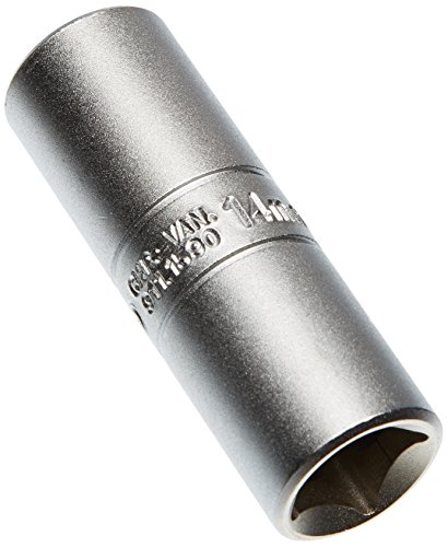 "KS Tools 911.1590 1/2\"" Stecknuss für Zündkerzen, 14mm"