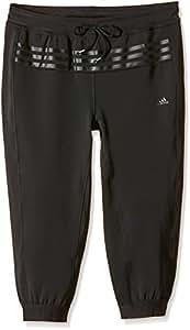 adidas Damen Caprihose Workout, Schwarz, XXS, AB0123