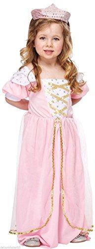 Fairy Kostüm Prinzessin Pink - Kleinkind Mädchen pink Fairy Tail Prinzessin Königin Kostüm Kleinkinder 3Jahre