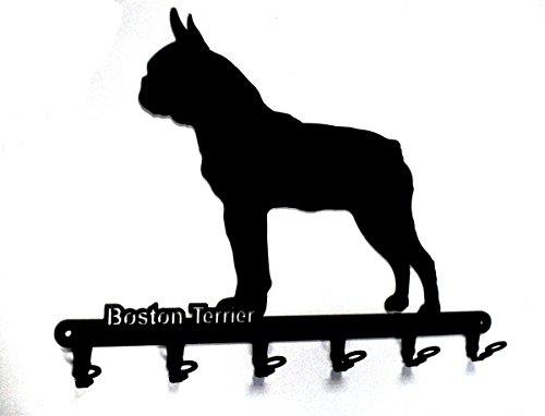 Schlüsselbrett / Hakenleiste * Boston Terrier * - Schlüsselboard - 6 Haken