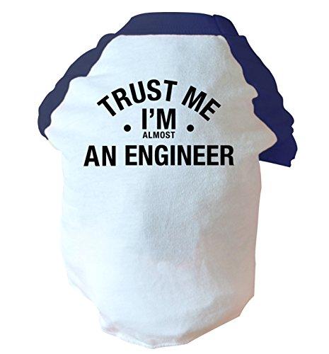 Trust Me I 'm Fast Ein Ingenieur Zwei Straffen Hund Weste Rosa Oder Blau Gr. Large, Blau -