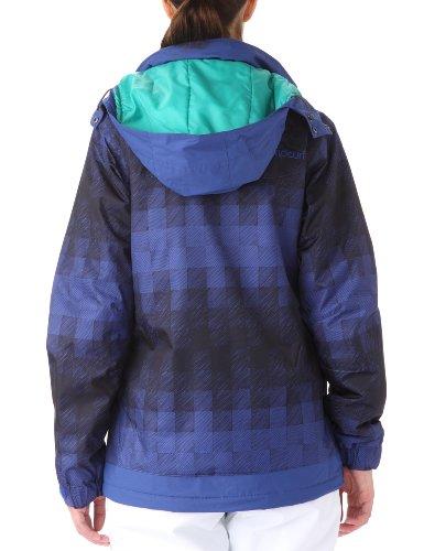 Rip Curl Pooka Printed Jacket Veste de snow à capuche femme Mazarine Blue