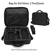 Drone Storage Bag, Waterproof Nylon Storage Shoulder Bag Carry Case for DJI Mavic 2 Pro/Zoom Drone