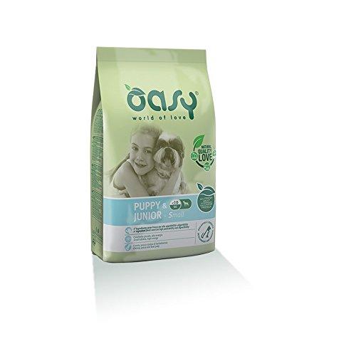OASY Alimento secco per cane puppy & junior small 3kg - Mangimi secchi per cani