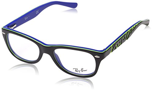Ray-Ban Unisex-Kinder 0ry 1544 3600 48 Brillengestell, Grau (Topo Dark Grey On Blu),