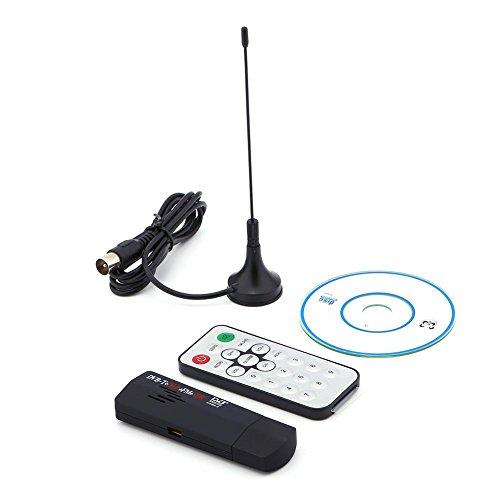 Zerone R820T DVB-T Empfänger, USB 2.0Digital DVB-T SDR + DAB + FM HDTV TV-Tuner Receiver Stick RTL2832U + r8202Tuner Empfänger 25-1700MHz -