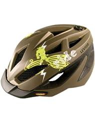 Levior Gekko - Casco de ciclismo infantil, color marrón ,talla M