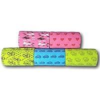 LisaCare Fünf Stück Fixierbinden mit Motiven für Jungen und Mädchen - 10cmx4,5m je Rolle - Kohäsive, selbsthaftende... preisvergleich bei billige-tabletten.eu