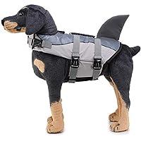 Jiedoasi Chaleco Salvavidas para Mascotas Chaleco Salvavidas para Nadar Flotador para Perros Flotador de Vida Chaleco